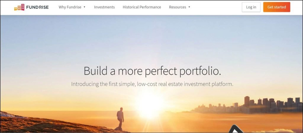 Fundrise real estate investing passive income app