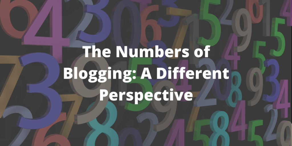 The Numbers of Blogging