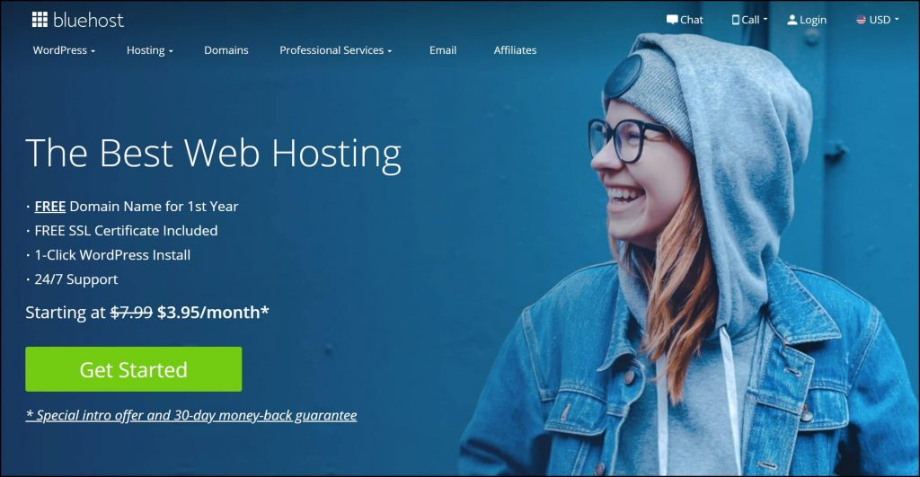 Bluehost Web Hosting Site