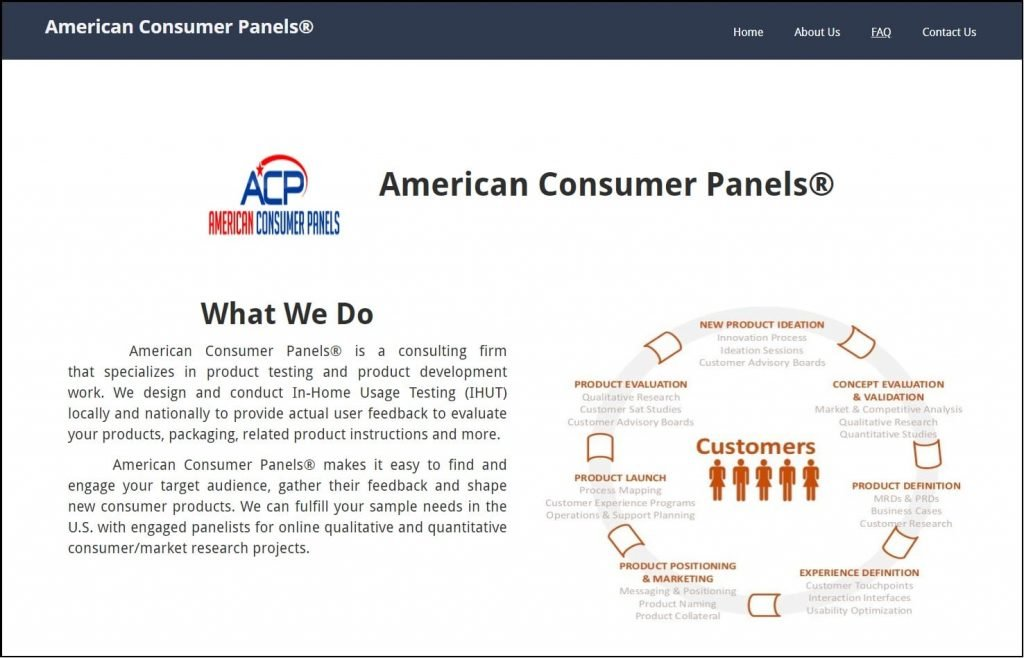 American Consumer Panels Homepage