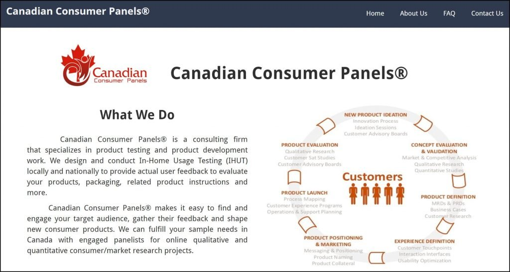 Canadian Consumer Panels Homepage 1 American Consumer Panels Review: Is It a Scam?