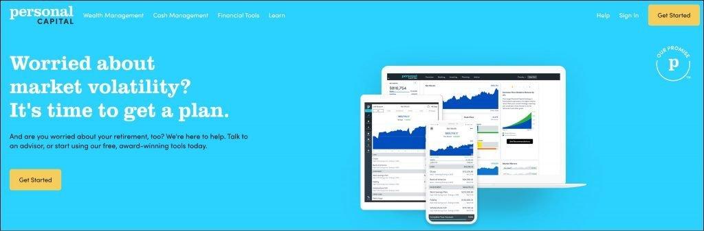 Personal Capital Homepage