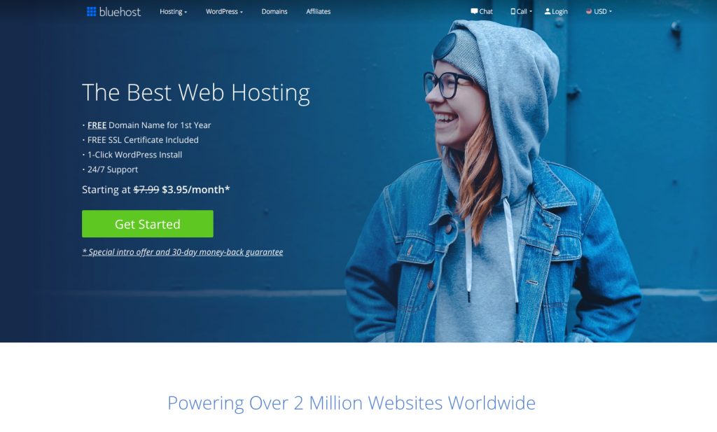 1 Welcome to Bluehost How to Start a Blog for Beginners [2020]