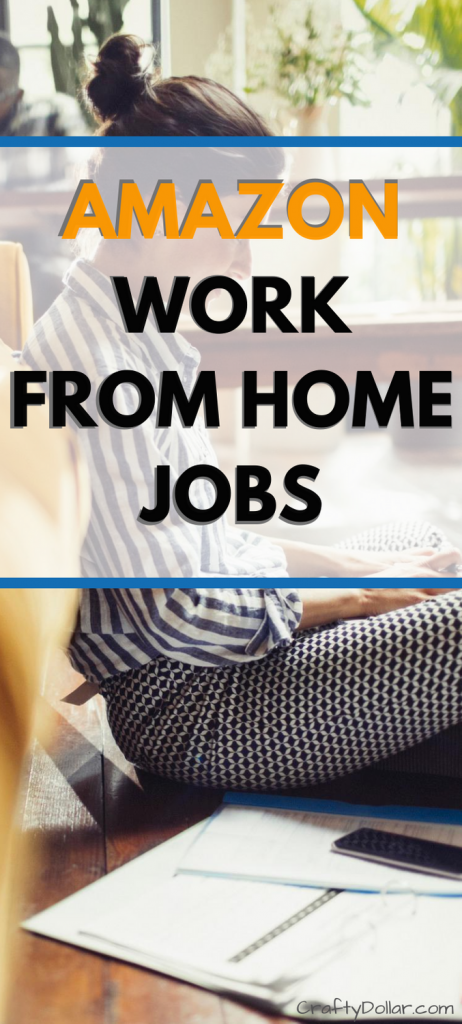 Amazon Work From Home Jobs