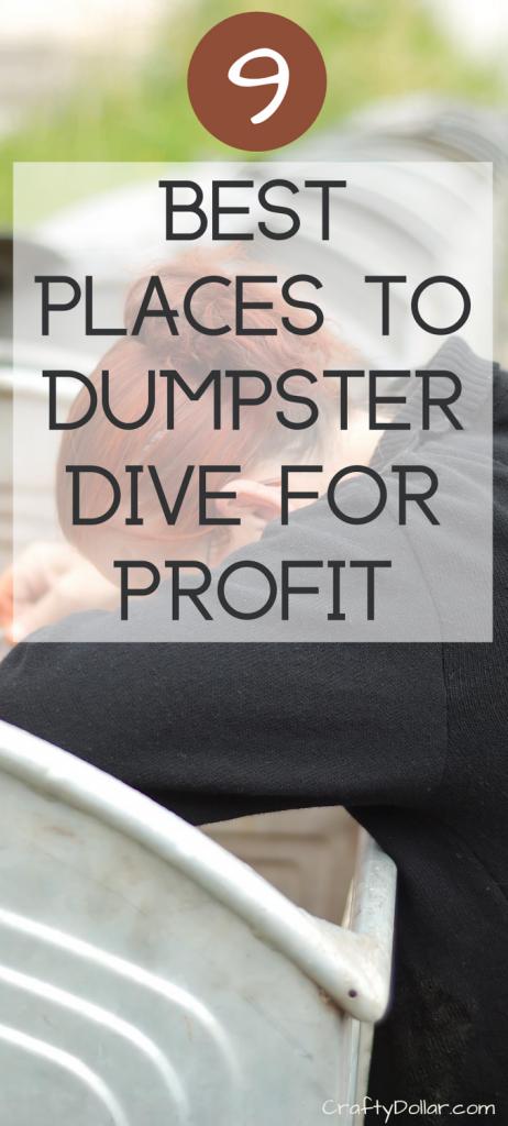 Best Places to Dumpster Dive for Profit