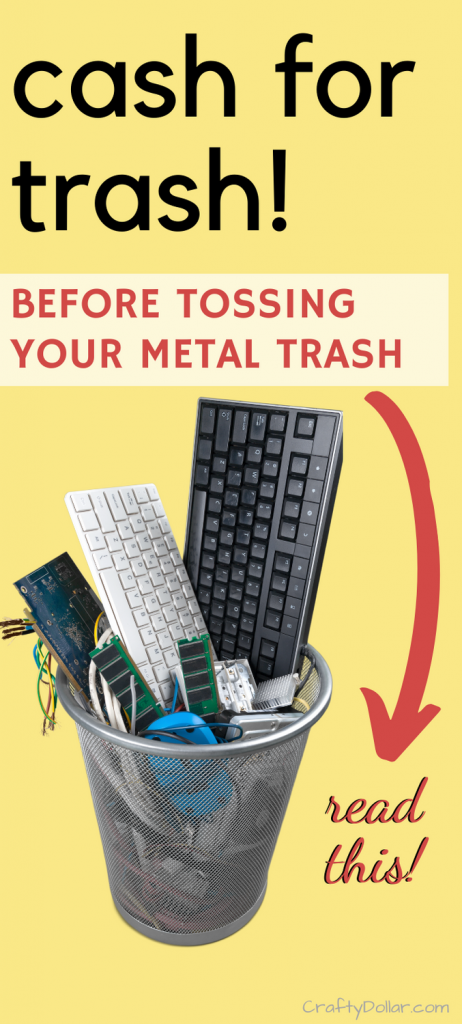 Cash for trash. Find scrap yards near you for your metal trash.
