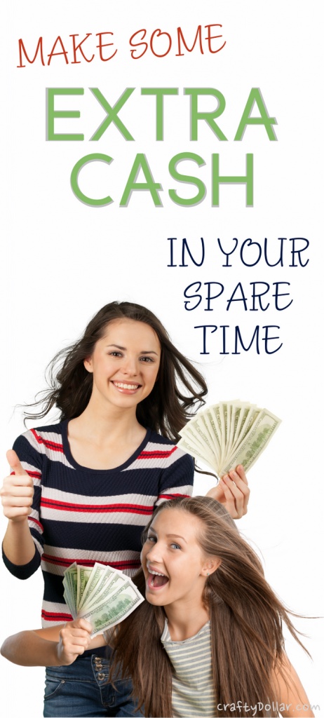 Make extra cash in your spare time