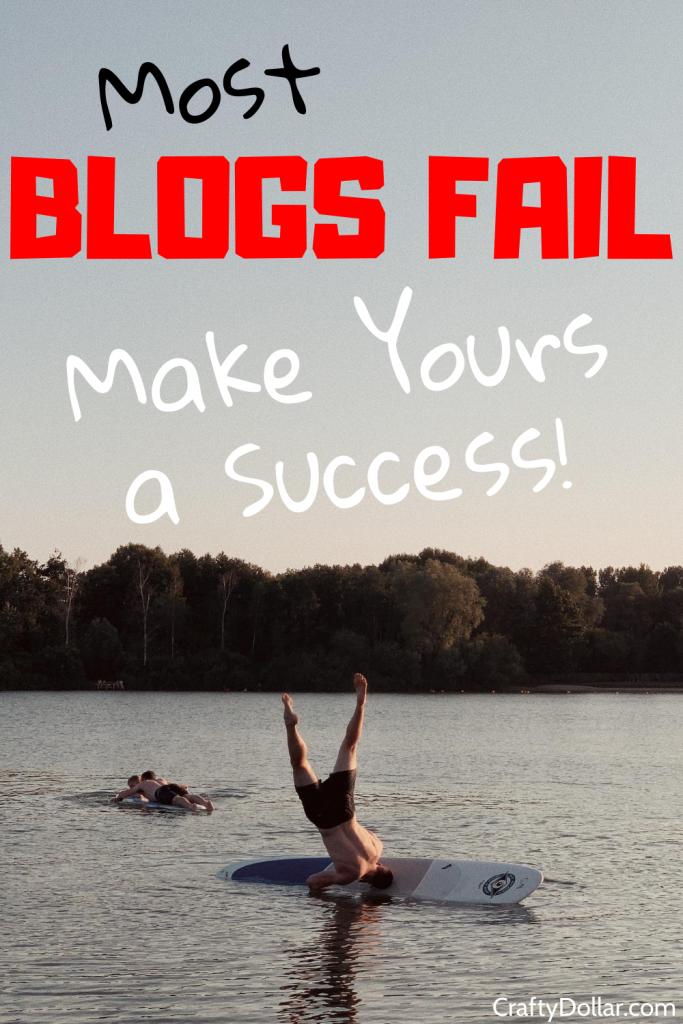 Most blogs fail