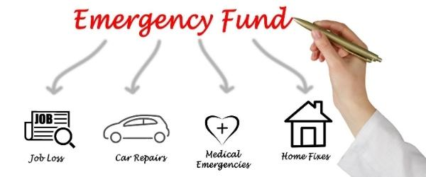 Emergency funds can help get you deal with unexpected expenses